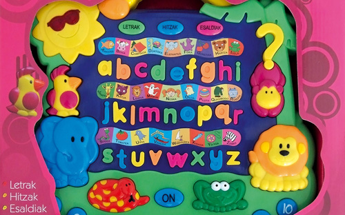 Animalien alfabetoa