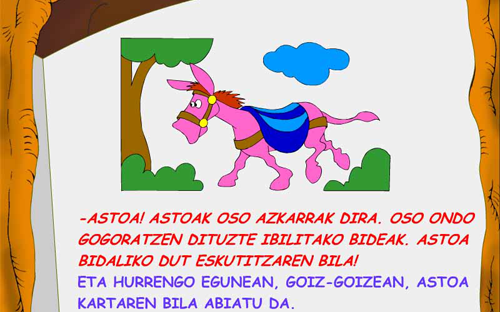 Olentzero: Basoan