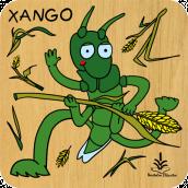 Xango zurezko puzzlea
